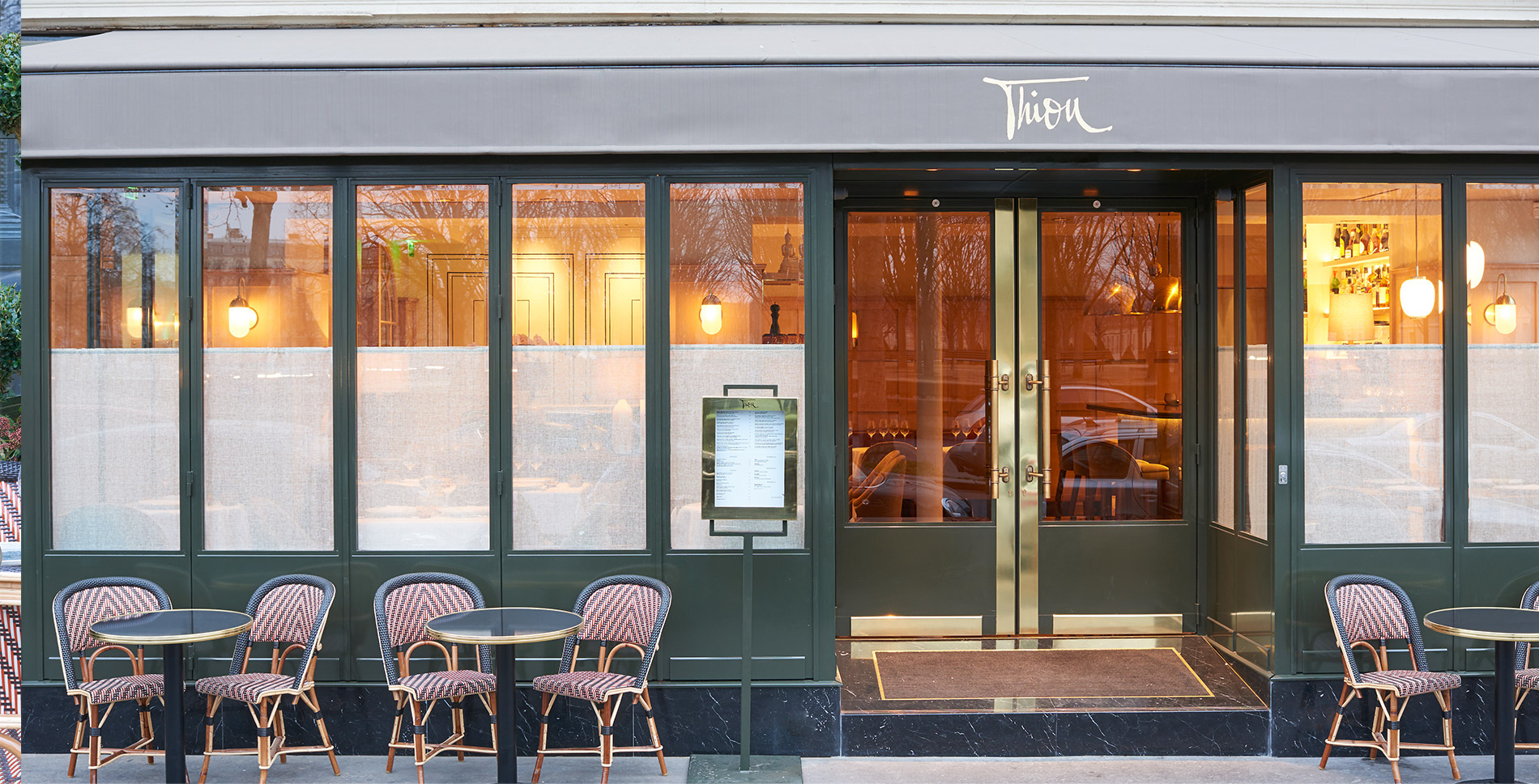 Restaurant THIOU à paris